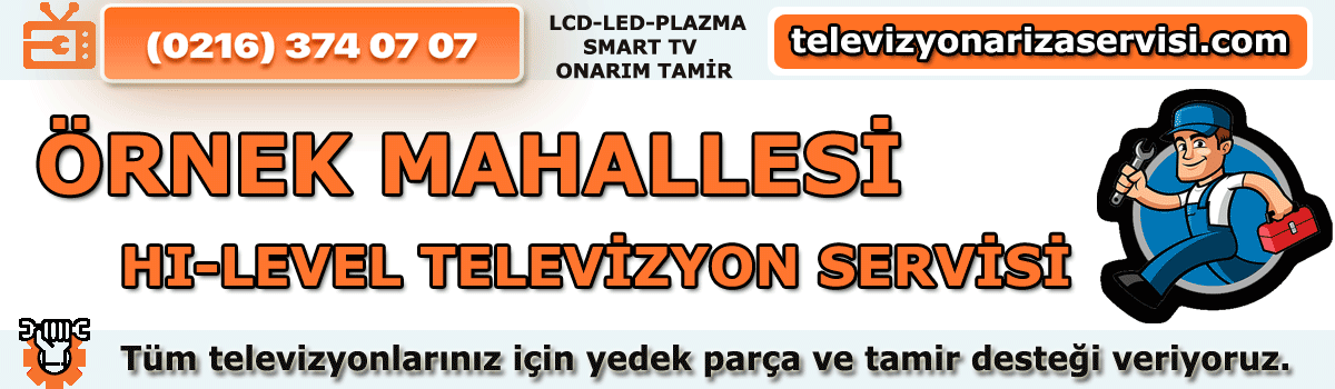Örnek Mahallesi Hi-level Tv Tamircisi Tv Servisi Tv Tamiri 0216 374 07 07