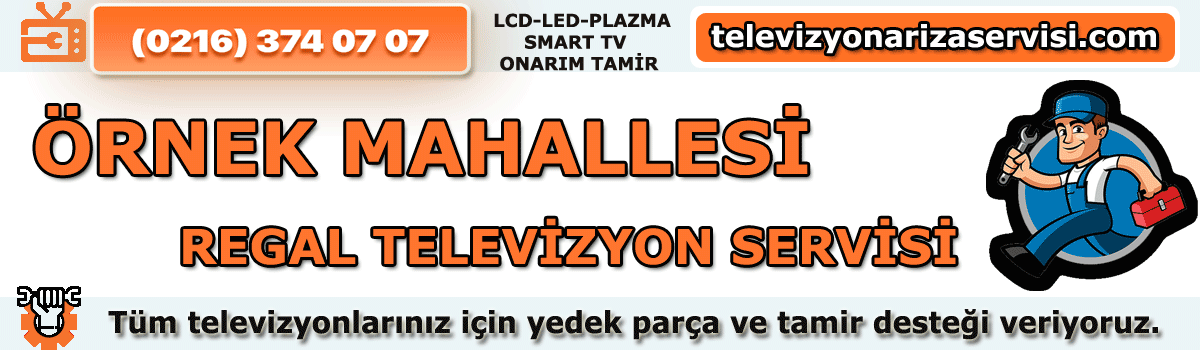 Örnek Mahallesi Regal Televizyon Tamircisi Tv Servisi 0216 374 07 07