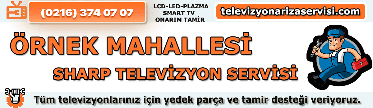 Örnek Mahallesi Sharp Televizyon Tamircisi Tv Servisi 0216 374 07 07
