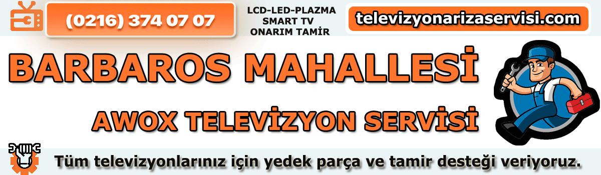 Barbaros Mahallesi Awox Televiyon Tamircisi Özel Tv Servisi 02163740707