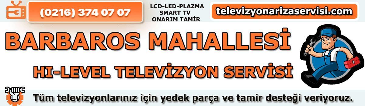Barbaros Mahallesi Hi-level Tv Tamircisi Özel Tv Servisi 0216 374 07 07