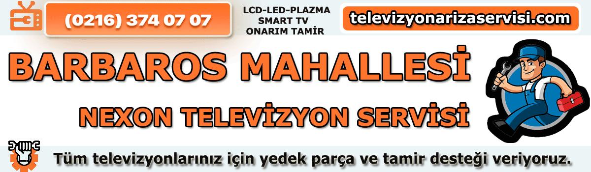 Barbaros Mahallesi Nexon Televizyon Tamircisi Tv Servisi 0216 374 07 07