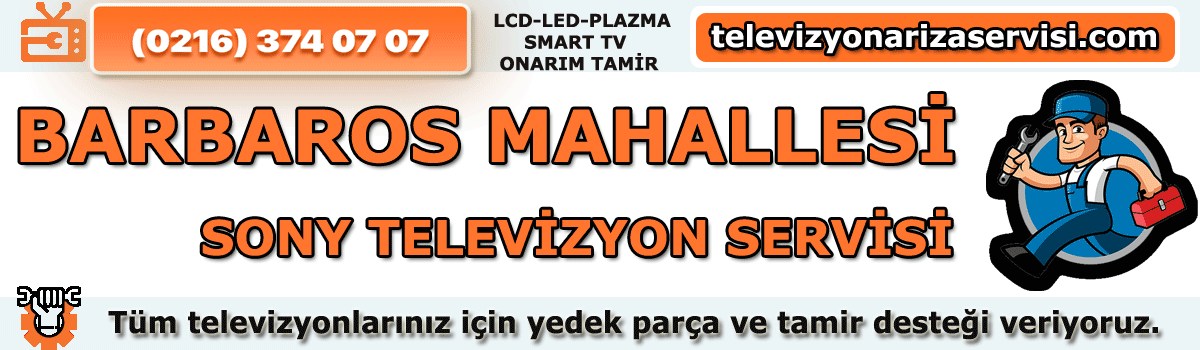 Barbaros Mahallesi Sony Tv Tamircisi Tv Servisi Tv Tamiri 0216 374 07 07