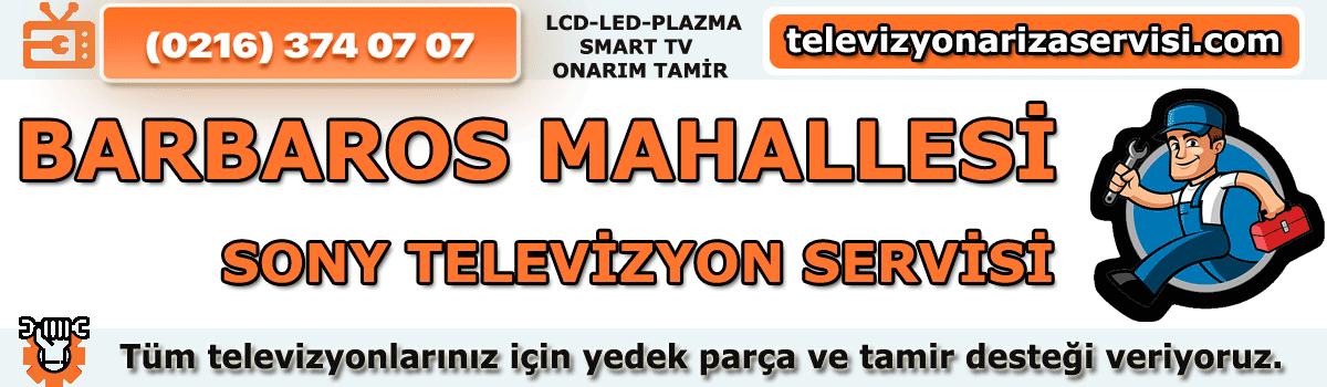 Barbaros Mahallesi Sony Tv Tamircisi Tv Servisi Tv Tamiri 0216 374 07 07