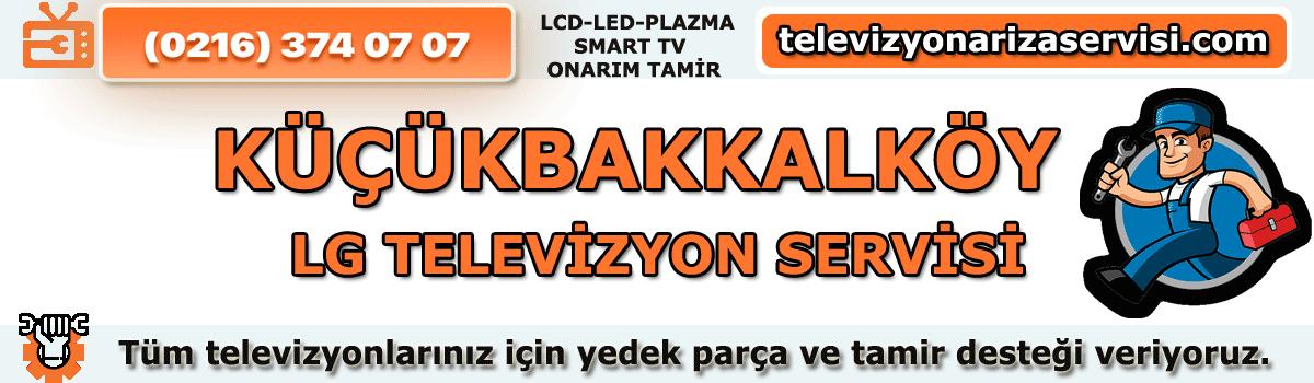 Küçükbakkalköy Lg Tv Tamircisi Servisi