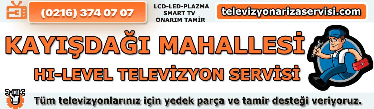 Kayışdağı Mahallesi Hi-Level Tv Tamircisi Özel Tv Servisi 0216 374 07 07