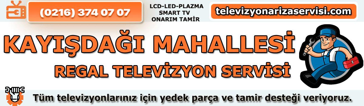 Kayışdağı Mahallesi Regal Televizyon Tamircisi Tv Servisi 0216 374 07 07