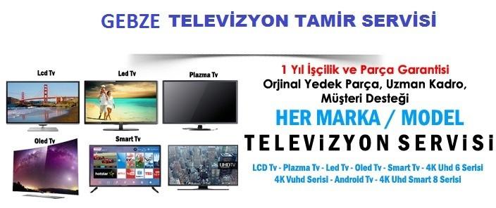 Gebze Televizyon Arıza Servisi