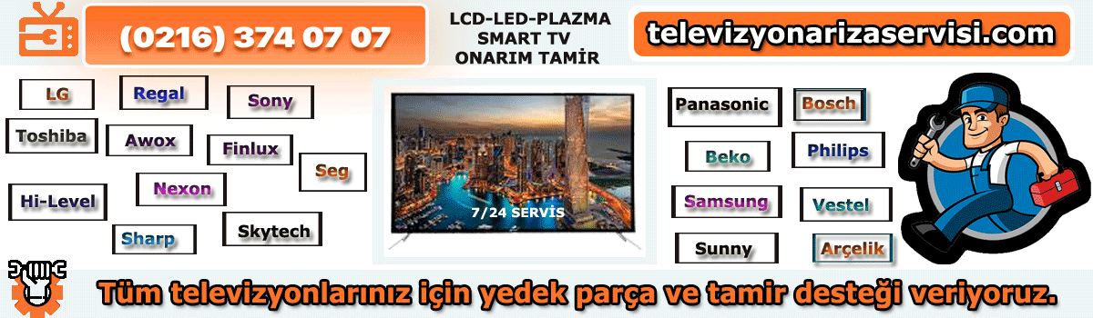 Fenerbahçe Vestel Televizyon Tamir Özel Tv Servisi 0216 374 07 07
