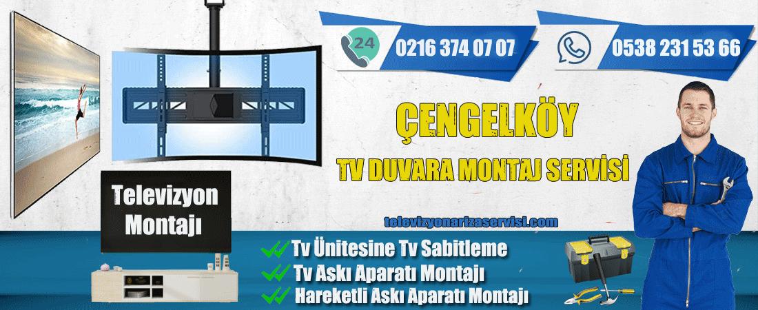 Çengelköy Televizyon Duvara Montaj Servisi
