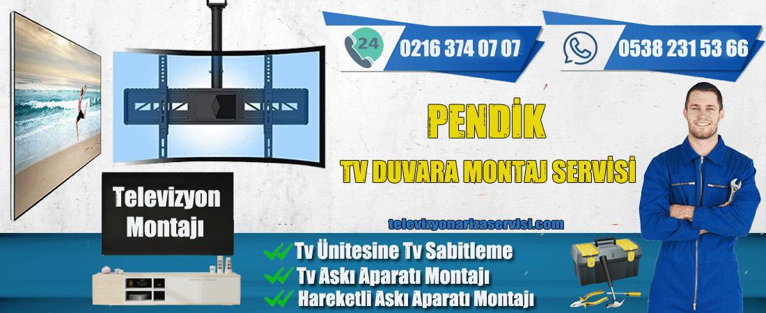 Pendik Televizyon Duvara Montaj Servisi